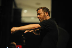 Conductor/composer Brad Lubman, Co-Artistic and Music Director of Ensemble Signal